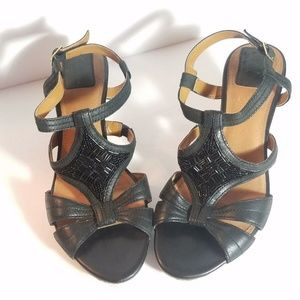 Clarks Bendables Wedge Sandals Size 9